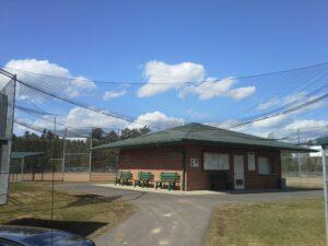 Baseball barrier netting