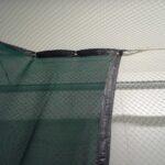 Green HD Impact Net inside Cage
