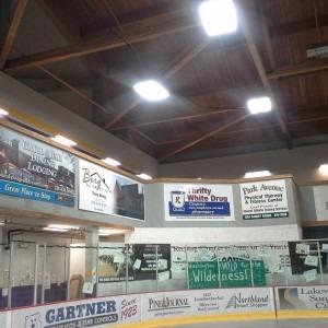Cloquet Hockey Arena Install