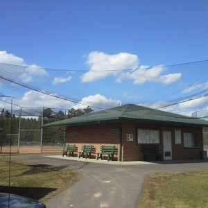 Baseball Field Complex Safety Netting