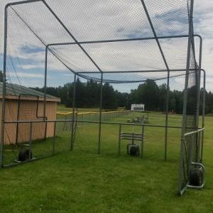 Custom Baseball Hitting Enclosure