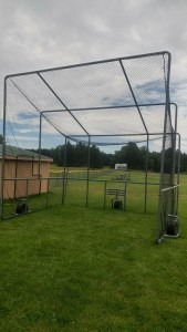 Custom Baseball Hitting Enclosure