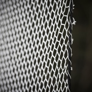 White Golf Net Impact Panel